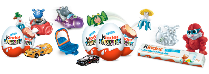 Taking Candy from Babies. Kinder Chocolate Eggs Banned in the U.S. ...